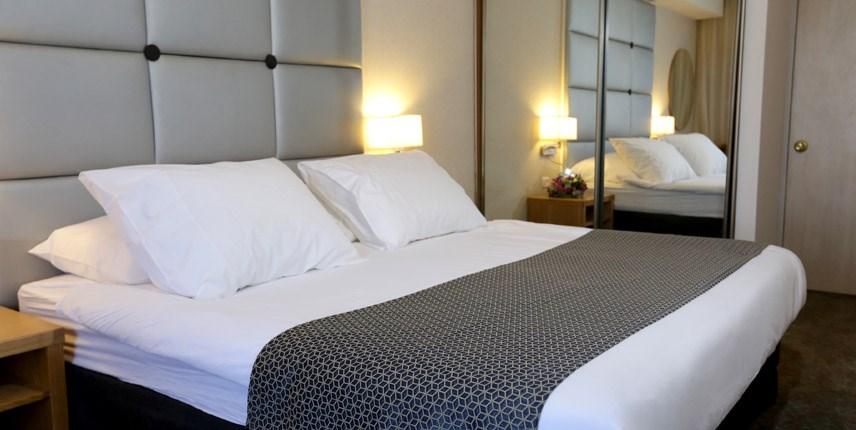 спальня в королевском номере